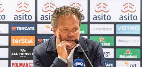 De Graafschap-trainer De Jong: Niet in paniek raken