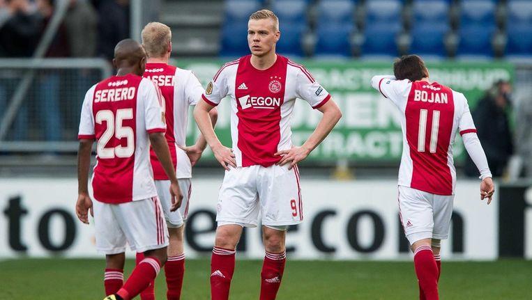 Ajax-speler Kolbeinn Sigthorsson. Beeld epa