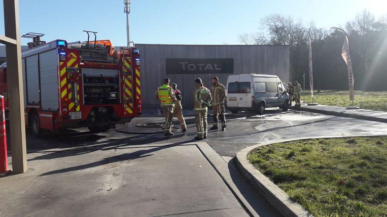 Brandweerzone Zuid West Limburg kreeg de vlammen snel onder controle