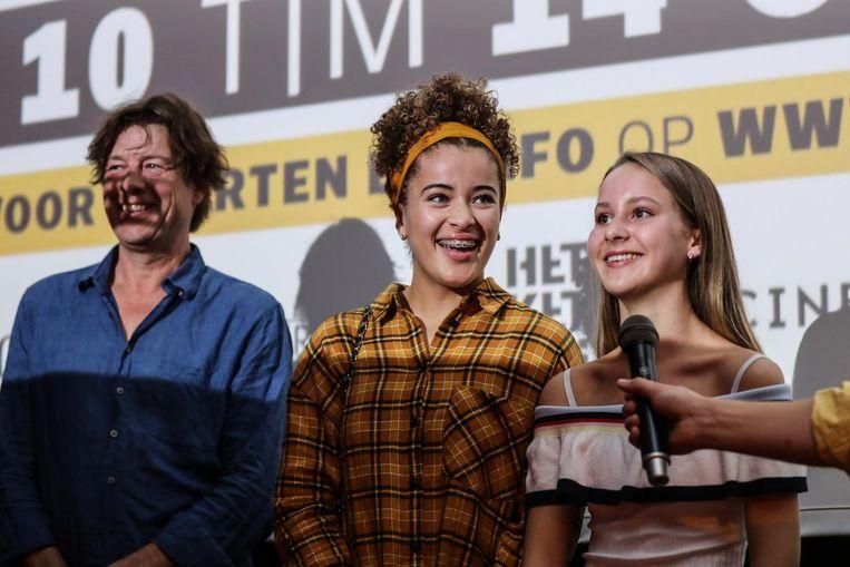 Johan Timmers, Noa Farinum en Aiko Beemsterboer, over de film Vechtmeisje Beeld Eva Plevier