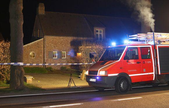 De woning aan Gammel waar de moordpoging zich afspeelde.