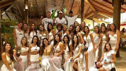 Een HEEL gelukkig nieuwjaar! Neymar viert tussen 26 vrouwen in strandclub (en zo vieren andere internationale en Belgische sterren)