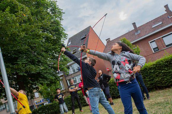 LIEDEKERKE: 1770 Zomert toverde het Warandepark om tot een Breugeliaans dorp.