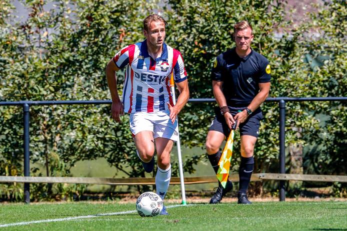 Pieter Bogaers was een vaste waarde bij het tweede team van Willem II.