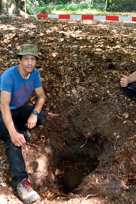 Vliegtuigbom wordt mogelijk in bos Nijkerk tot ontploffing gebracht