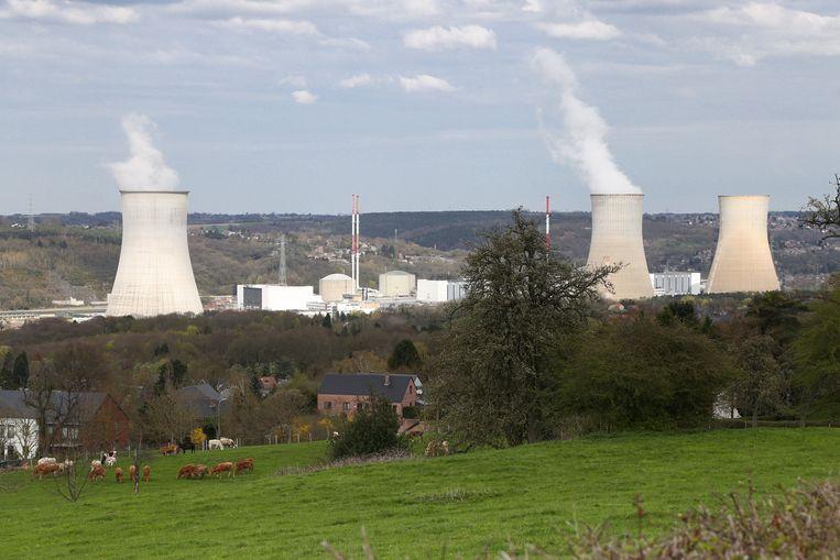 De kerncentrale van Tihange.