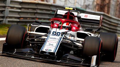 Giovinazzi (Alfa Romeo) krijgt eerste gridstraf van Formule 1-seizoen