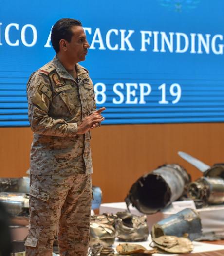 Saoedi-Arabië laat resten drones zien: 'Iran sponsorde aanval'