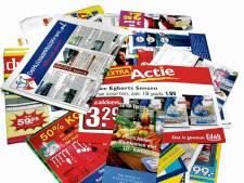 Wageningen promoot ja-nee en nee-nee sticker op de brievenbus