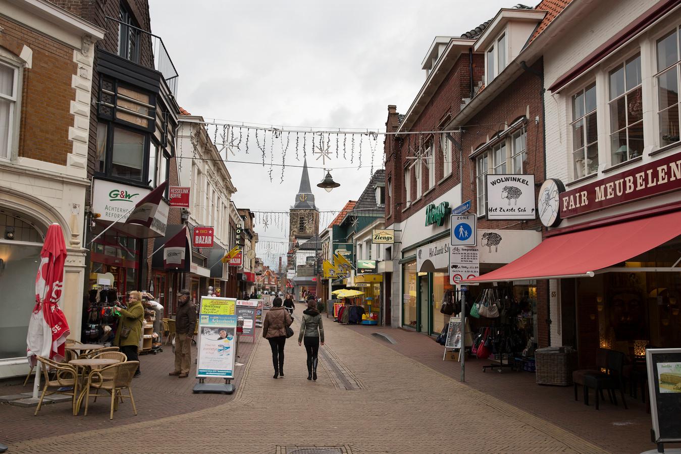 Het winkelcentrum Winterswijk