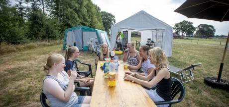 Bierdrinkende tieners weggestuurd van kampeerplek in Tubbergen