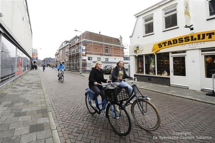 De Ootmarsumsestraat moet in 2016 een fietsstraat zijn
