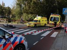 Crossmotorrijder gewond na aanrijding op Urk