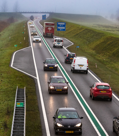 File op N50 tussen Zwolle en Kampen opgelost