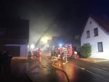 Zwaargewonde bij brand in 'leegstaand' huis in Vreden