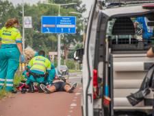Wielrenner gewond na smak op de Hollandbaan in Woerden