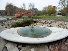 Het park is nu klaar, maar hoe gaat het met de zeldzame rugstreeppad?