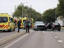 Ravage door ongeluk op N224 in Ede: drie gewonden door botsing meerdere auto's