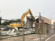 Pand van Superdirect in Eindhoven gesloopt