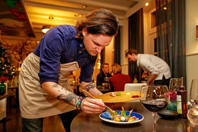 Restaurant Lef waar één van de koks een Palet Lef maakt.