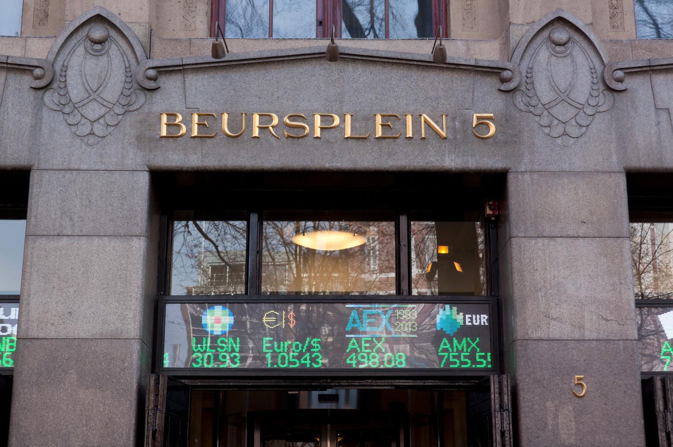 De Amsterdamse beurs, gevestigd op Beursplein 5 bij het Damrak
