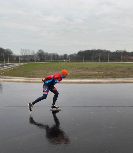Schaatsbaan Winterswijk kan niet open: te dunne laag ijs