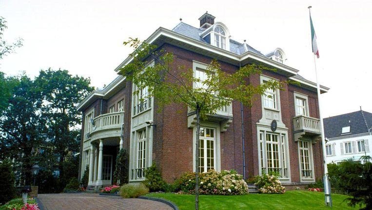 De ambassade van Koeweit in Den Haag. Beeld anp