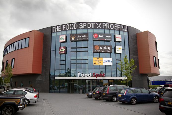 Exterieur van de Foodspot.
