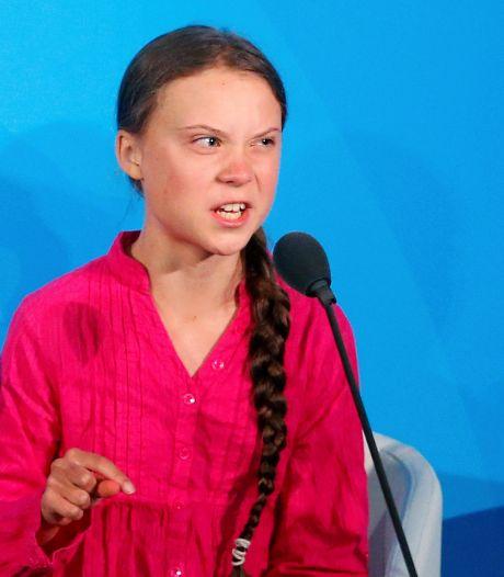 Greta Thunberg haalt uit na haatreacties: 'Ik snap niet dat volwassenen kinderen gaan bedreigen'