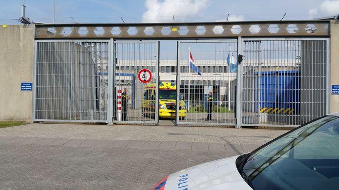 De voormalige gevangenis aan de Rokkeveenseweg in Zoetermeer.