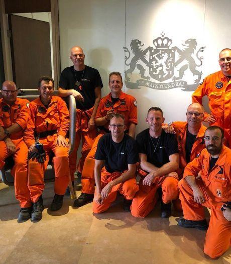 Hulpverleners uit de regio weer terug op Nederlandse bodem na heftige tijd in Beiroet