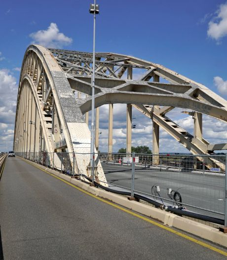 'Nieuwe' Waalbrug van 62,5 miljoen bijna open voor verkeer