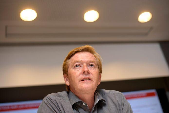 Bertrand Draguez, président de MSF en charge de l'intervention en Belgique.