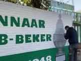 Make-over voor buitenmuren oude stadion WVV Wageningen