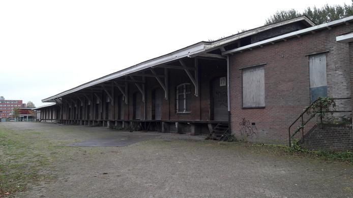 De voormalige loods van Van Gend & Loos in Helmond