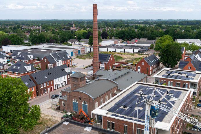 De woningbouw in KVL Dorp rukt op tot aan de randen van het verpauperde bedrijventerrein Kerkhoven.