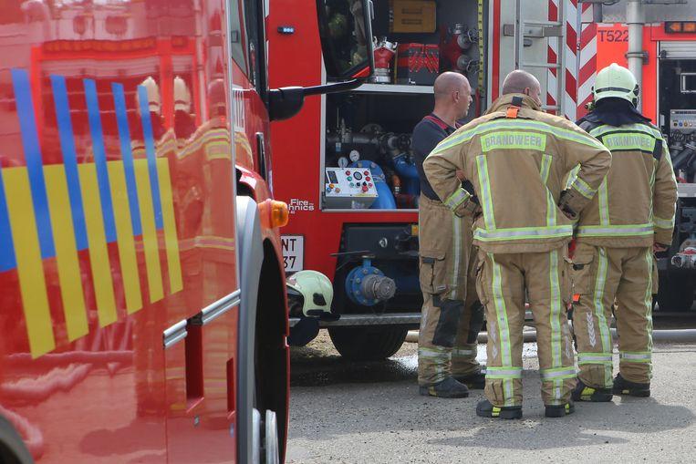 Brandweerlui hadden het incident snel onder controle