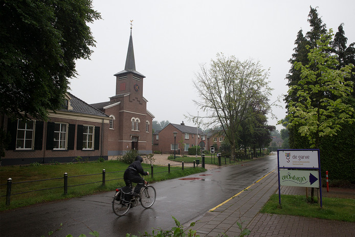 Dorpsstraat in Wichmond.