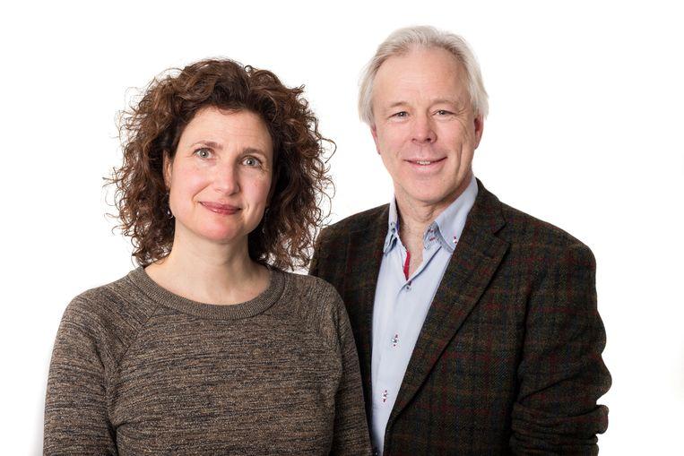 Jutka Halberstadt, psycholoog en universitair docent kinderobesitas bij de VU en Jaap Seidell, hoogleraar voeding en gezondheid bij de VU Amsterdam.