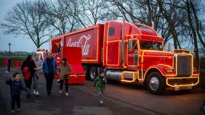 'Holidays are coming': legendarische kersttruck van Coca-Cola staat in Antwerpen