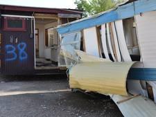 Geruimde caravans Fort Oranje 'tentoongesteld' bij Stolwerk in Breda