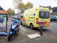 Scooterrijder gewond na botsing met auto in Valkenswaard
