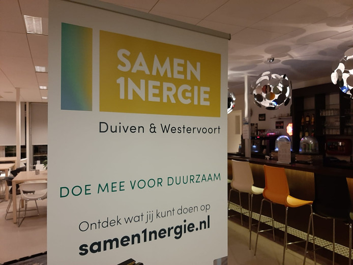 Inwoners van Duiven en Westervoort kunnen tijdens de informatieavond meedenken over waar windmolens en zonneparken worden geplaatst in hun gemeente.