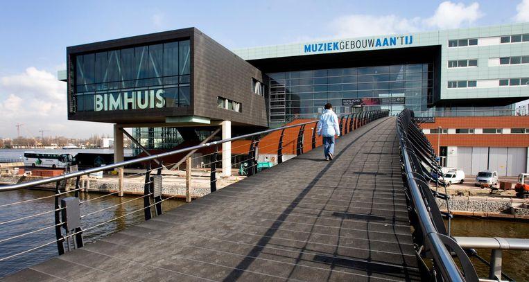 Ook Muziekgebouw aan 't IJ en het Bimhuis doen mee aan Expeditie Oosterdok Beeld anp