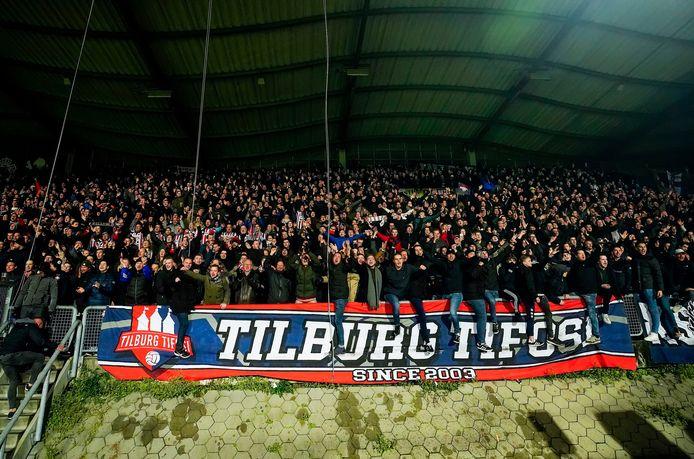 Gezang van de fans van Willem II wordt bij veel registraties van wedstrijden in lege stadions gebruikt.