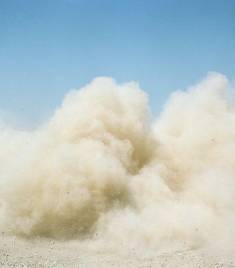 Ergernis om stofwolken door auto's bij Hut van Mie Pils