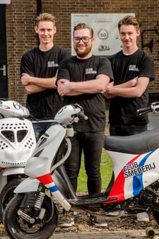 Tilburgs raceteam: De 'neefjes' werden met flesjes benzine grootgebracht