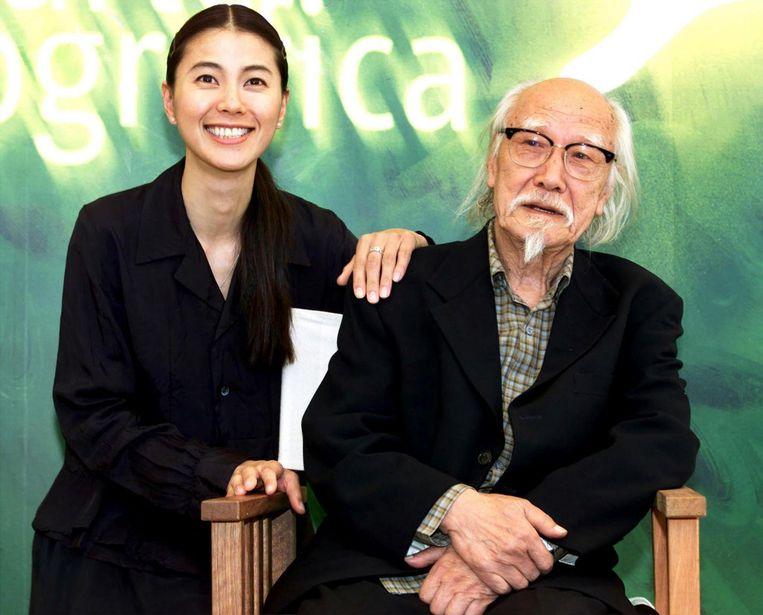 Seijun Suzuki en actrice Mariko Esumi. Beeld anp