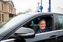 Taxichauffeur Ruud Stevens .