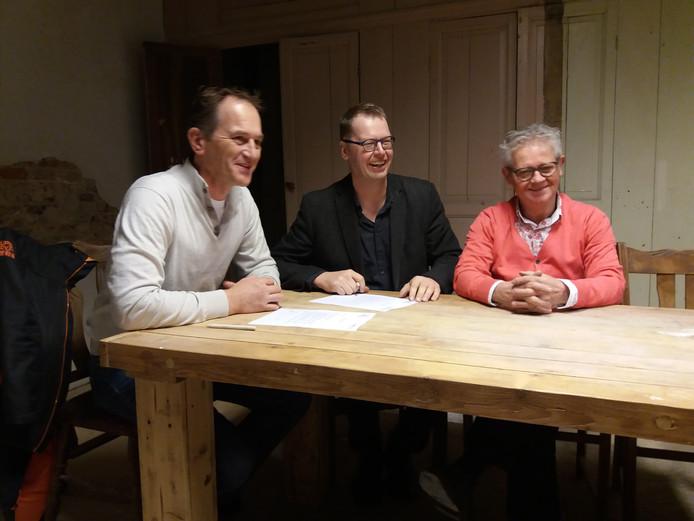 Ondertekening intentieverklaring samenwerking SPPiLL en Terug in d'n Ted.